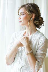 """Vintage """"Aquarelle"""" Bridal Jewellery Inspiration"""