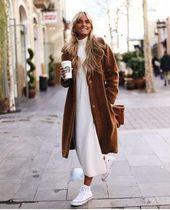 Atemberaubende 70 Winter-Outfits mit einem Kamelmantel, um schick und warm zu bleiben
