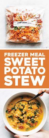 Freezer Meal Spicy Sweet Potato Stew