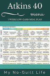 Atkins Mahlzeitpläne sind die niedrige carb Weise, Gewicht zu verlieren. Hier ist, was Sie brauchen, um k …   – Food & Drink