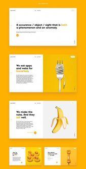 """Conception moderne de sites Web par Aly Mirocka sur Bhance: """"… cool, audacieux, unique et moderne visu …  – UI/UX Design"""