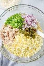 Salade classique au macaroni au thon   – salads