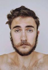 Septum und Lippenpiercing männlich – Google Search   – Wolpertinger fursona