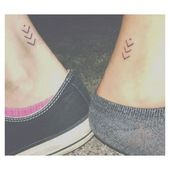 Friend Tattoos – Best friend tattoo. 'In the past present and future I promise to be by your…