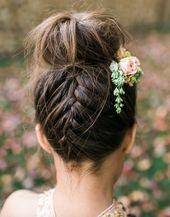 15 wunderschöne Blumenmädchen Frisuren