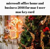 microsoft office #home and business 2016 for mac 1 user mac key card_1784_201809…