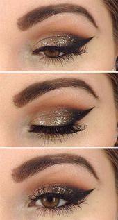 Make-up sieht attraktiv und anmutig auf jedes Mädchen, wenn es künstlerisch gemacht wird, ich … – Belleza