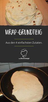 Wrap-basic dough