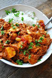 Vegane Butterlinsen und Kartoffeln   – Clean eating #healthy Lifestyle #feel good