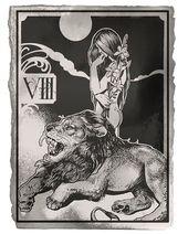 Meine Lieblingskarte #tarot, die beim Lesen immer erhebt. Die #Strength steuert die …