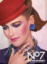 Was für ein wundervolles Make-up, Vintage No7-Make-up-Werbung aus den 80ern   – 80's Party