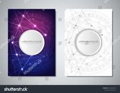 Brochure Template Cover Design Digital Technology Stock Vector (Royalty Free) 1495952045