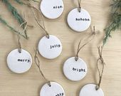 PRE-ORDER: Christmas Gift Tag, Unique Gift Tag, Tr…