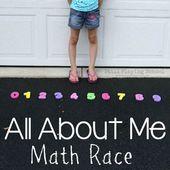 Ganz über mich Mathe-Rennen  – All About Me