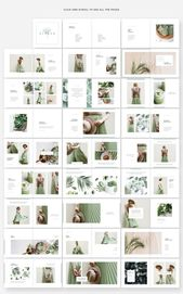 Ginkgo Lookbook Template #Unique#Print#Pages#Size …