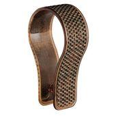 mDesign Duschvorhang-Ringhaken aus strukturiertem Kunststoff, Mattschwarz, 12er-Set   – Products