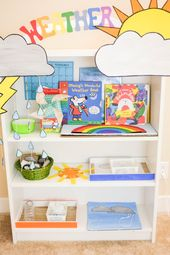 Weather Theme Learning Activities for Toddlers and Preschoolers – WEATHER Theme