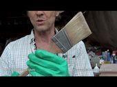 Der beste Weg, um einen Pinsel mit der geringsten Menge an Verdünner zu reinigen   – Paint – … – Can Epoxy