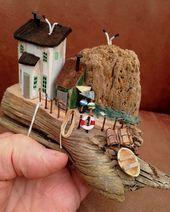 Neue nur Driftwood Driftwoodart Driftwoodskulptur rustikale Küste Küste Etsysho durchgeführt