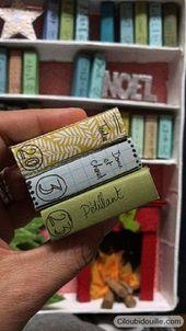 Calendrier de l'avent Livre bibliothèque – Ciloubidouille