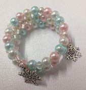 Frozen-Inspired Pearl Bracelet