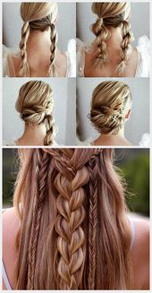 Gorgeous and Easy Homecoming Hairstyles Tutorial Long Hair #diyhairstyl …