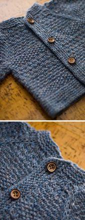 Baby Tweed – Knitting Cardigan