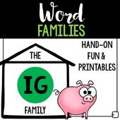 IG Word Family Activities  – Products