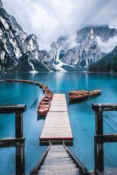 Pragser Wildsee, Italy #travel inspo 5 Italian Lak…