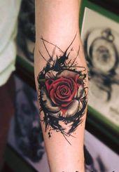 31 des meilleurs tatouages noirs et rouges – Page 5 sur 6 – 123 Tatouages - Tatouages …   – Tatos