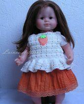 Ensemble de jupe pour poupée de 36 cm, type Corolle: jeux, jouets en laine et ….   – Jupes
