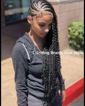 Easy & Trending Braids Hair Style Ideas #briadshair #hairideas