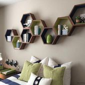 Simple and Crazy Ideas: Floating Shelf Decor Mirro…