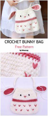 Crochet Cute Bunny Bag – Free Pattern