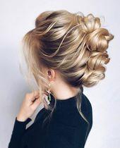 2019 messy bun models – #bread #chaotic #models – #new