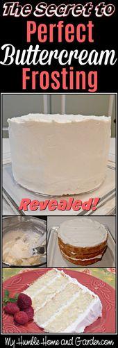 Das Geheimnis zum perfekten Buttercreme-Zuckerguss 9. Dezember 2014 Buttercreme-Zuckerguss …   – dinners