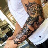 125 besten Halbarm-Tattoos für Männer: Coole Designs + Ideen (Leitfaden 2019)