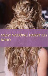 Wedding ; messy wedding hairstyles boho ; tutorial wedding hairstyles   bun wedding hairstyles   indian wedding hairstyles ; #stepbystepweddinghairsty...