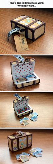 A Creative Way To Give Money As Wedding Gift