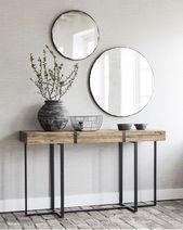 Dining Console Console Dining Room and Buffet #ModernHomeDecorGeometric #Buffet #Dining Room Console ...