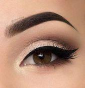 58+ Ideen Make-up-Ideen für braune Augen Rote Lippen Einfach –  #augen #braune …