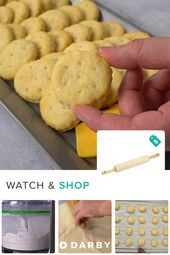 Homemade Ritz Crackers Recipe. Made by @Cupcake Pr…
