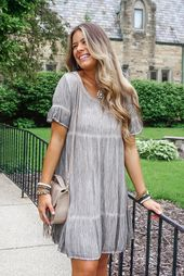 Stone Washed Ruffle Dress – The Urban Hippie