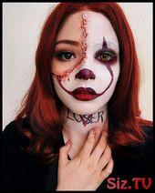 Halloween-Make-up, #Halloween #HalloweenMake-upEinfache #Make-up   – Beauty