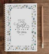 DIY Cuadernos calligraphie bullet journal - Ecosia