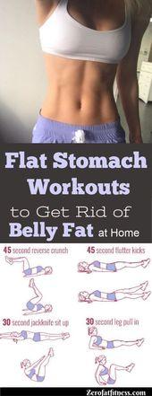 Flat Stomach Workouts.Wenn Sie Bikinikörper und Ihre Bauchmuskeln wollen … – Wor …   – Fitness