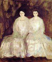 Die Fey-Schwestern (Karoline & Pauline) von Richard Gerstl auf Curiator – crtr.co/2 …
