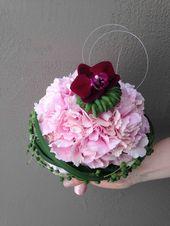 Brautstrauß mit Hortensien   – Blumen Brautstrauß