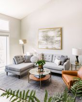 Design Crew: Calming Neutrals & Plenty of Plants in a Minnesota Townhouse – Fron…