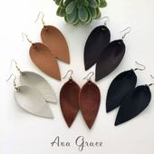 Those Leather Leaf Earrings Joanna Gaines Wore All Season Long Keep Selling Out